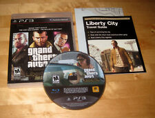 GRAND THEFT AUTO IV COMPLETE EDITION Playstation 3 PS3 console system game w/MAP