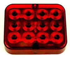 Nebelschlussleuchte 12LED Betriebsspannung PKW 12 Volt E4-geprüft 100x80x25mm