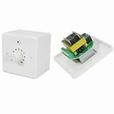 100v Line Volume Control -50W Max- Adjustable Sound Switch-PA Speaker Wall Plate