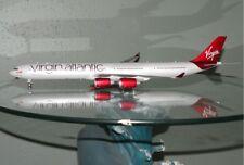 1:200 Gemini Virgin Atlantic Airbus A340 diecast model plane G-VEIL Queen of sky