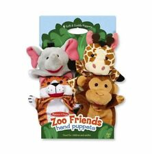 Melissa and Doug Zoo Friends Hand Puppets - 19081 - NEW!