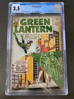 Green Lantern #7 CGC GD/VG 3.5 Cream To Off White Origin And 1st Sinestro!