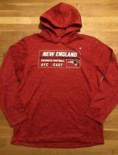 New England Patriots Mens Hoodie Size Large Nwot  NFL Team Apparel