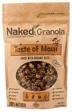 Naked Granola Taste of Maui Bagged Granola, 11 oz - Pack of 6