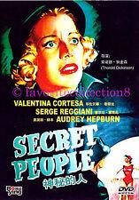 Secret People (1952) - Audrey Hepburn,Valentina Cortese - DVD NEW