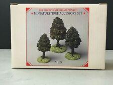 Liberty Falls Villages & Houses Miniature Mini Tree Accessory Set of 3pc Ah221