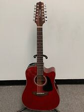Takamine TAKGD30CE12 12 String Acoustic Guitar - Red