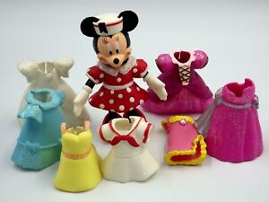 Figurine Disney Minnie 8cm Articulated + Accessories Dresses
