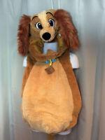 Disney LADY & the TRAMP Dog Costume 2-pc Unisex Girl Boy 18-24 Months Halloween