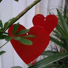 Corazón 2-set colgante de metal decoración Florística Pieza Joyería IDEA REGALO