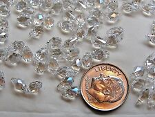 360 PIECES SWAROVSKI CRYSTAL BEADS #6007 7X4MM CRYSTAL MOONLIGHT - FACTORY PACK