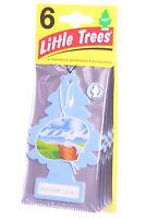 Little Trees Cardboard Hanging Car, Home & Office Air Freshener, Summer Linen -6