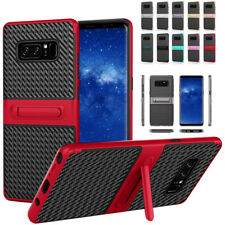 Hybrid Armor PC+TPU Stand Shockproof Case For Samsung Galaxy Note 8/A5 A7 2017