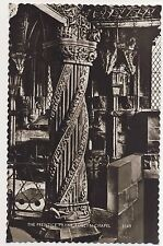 Vintage Postcard - The Prentice Pillar Roslyn Chapel (Valentine) - Unposted 1809