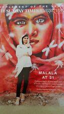 Sunday Times Magazine August 5th 2018 Jeff Goldblum Malala