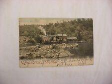 Vintage Postcard Gold Dredger in Redding California CA 1907  #1840
