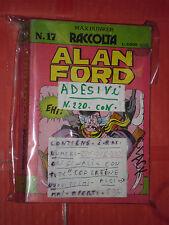 RACCOLTA CON COPERTINE INTERNE ALAN FORD-N°17adesivi -contiene n° 220-221-222-