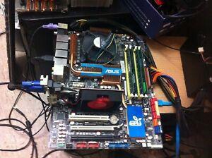 Asus P5Q PREMIUM Mainbord+  Core2Quad Q9550 2.83GHZ +8GB DDR2 Ram