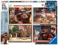 Ravensburger  4 Puzzles  Secret Life of Pets 100 Pièces Comme des Bêtes
