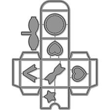 Lawn Fawn Custom Craft Die Set - TINY GIFT BOX - LF1485