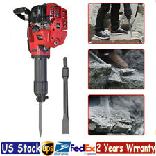 Gas Powered Demolition Jack Hammer 52Cc 1700W Concrete Floor Breaker 700-1500Bpm