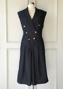 | COUNTRY ROAD | military jumpsuit raw denim | NEW | $299 | SIZE: 8,10,12,14,16