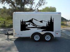 MOUNT Trailer graphics decor camper decal RV vinyl van, motor home tr2
