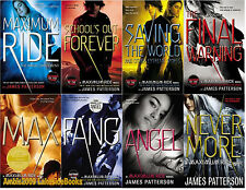 Maximum Ride Series Paperback Collection Set 1-8 by James Patterson Brand New!