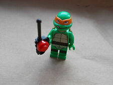 NEW LEGO MICHAELANGELO MINIFIGURE TEENAGE MUTANT NINJA TURTLE & REMOTE CONTROL
