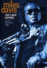 Miles Davis: That's What Happened - Live in Germany 1987 (2009, DVD NEUF)