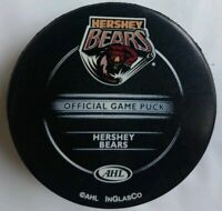 HERSHEY BEARS INGLASCO RARE AHL OFFICIAL GAME PUCK MADE IN CANADA