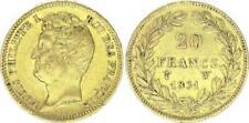 Pièces de monnaie françaises de 20 francs 20 francs à 40 francs sur Louis-Philippe