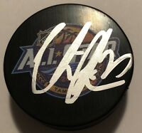 VICTOR HEDMAN SIGNED 2018 NHL ALL STAR GAME PUCK TAMPA BAY LIGHTING AUTO!