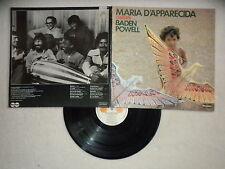 "LP MARIA D'APPARECIDA ""Chante Baden Powell"" CARABINE 26513 FRANCE µ"