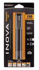 Nite Ize Inova Radiant Hi Powered AA Powered LED Flashlight Blk Grey R2A-M1-R7