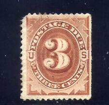 US Stamps - #J17 - MNG - 3 cent 1884 Postage Due Issue - CV $1050