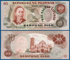 PHILIPPINEN  / PHILIPPINES 10 Piso   UNC  P.154