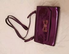 "653fa315877b1b Ted Baker Crystal Metallic Purple Cross Body Bag Brand New ""CHERI"" with bow"