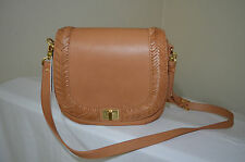 NWT Brahmin Southcoast Collection Sonny Shoulder/Crossbody Bag Tan Knoxville