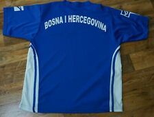LEGEA BOSNIA HERZEGOVINA NATIONAL TEAM FOOTBALL AWAY JERSEY SHIRT BLUE SIZE XL