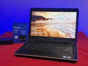"""Dell Latitude E6440 14"""" New 256GB SSD 8GB Ram i5-4310m WIFI + BT DVD-RW Win 10 P"""