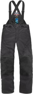 Icon Raiden DKR Textile Waterproof Motorcycle Trousers - Black