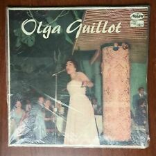 Olga Guillot Vinyl LP Latin Bolero Ballad Musart Records