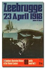 Zeebrugge - 23 April 1918 - Ballantine Battle Book No 31 PB 1974  W3