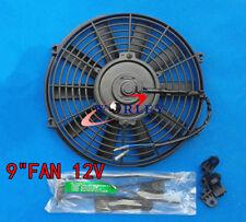 For 9 inch Universal Electric Radiator / Intercooler COOLING Fan & mounting kit
