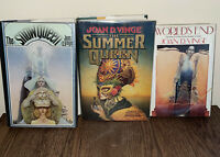 Joan D Vinge THE SNOW QUEEN/Summer Queen/ Worlds End SIGNED 1st Edition/Print