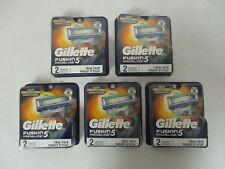 10 GILLETTE FUSION 5 PROGLIDE REFILL CARTRIDGES - SEALED - MP 815R