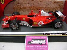 1/18 Hot Wheels 6222 Ferrari F1 2004 Michael Schumacher Sakhir/Bahrain