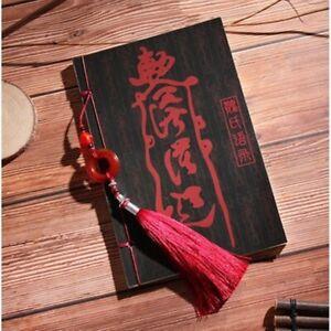 Anime Mo Dao Zu Shi Subtitle Sayings Ancient Manual Binding Notebook Notepad Gif