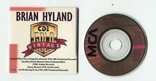 Vintage BRYAN HYLAND 3-INCH cd-maxi 1988 MCA 4-tr SEALED WITH A KISS near mint